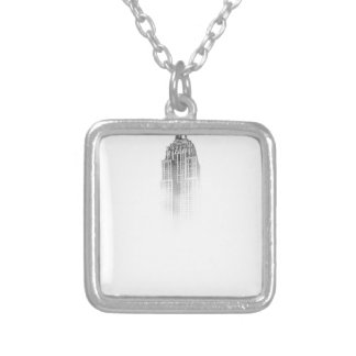 Empire State Silver Plated Necklace