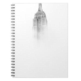 Empire State Spiral Notebook
