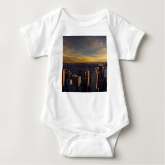 empire state sunset baby bodysuit