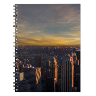empire state sunset notebook