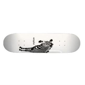 Emploi Zebra Skateboard Deck