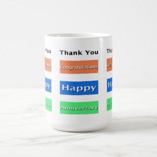 Employee Anniversary Simply Elegant Mug