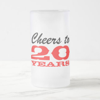 Employee appreciation mug | 20th anniversary party