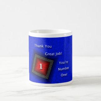 Employee Appreciation Thank You Great Job Basic White Mug