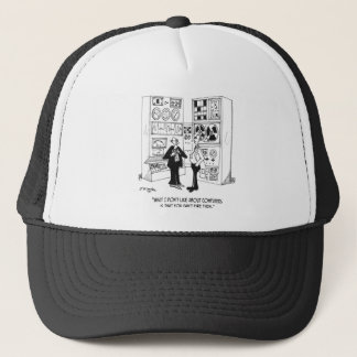 Employee Cartoon 4632 Trucker Hat