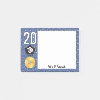 Employee milestone anniversary 20 year notepad