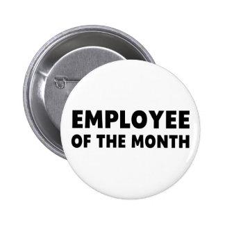 Employee Month 6 Cm Round Badge