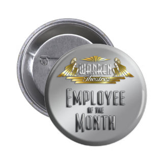 Employee of the Month 6 Cm Round Badge