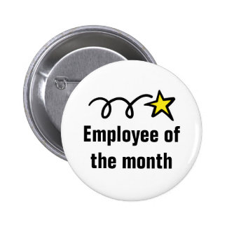Employee of the month button