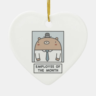 Employee Of The Month Ceramic Ornament