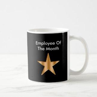 Employee Of The Month Basic White Mug