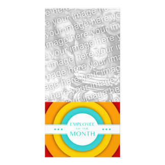 employee of the month (retro) photo card