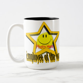 Employee of the Year Star & Photo Mug