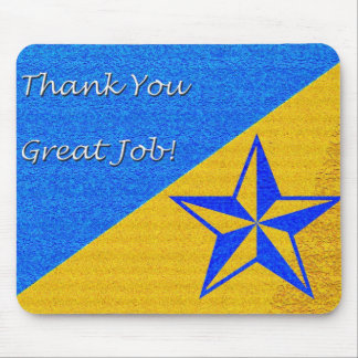 Employee Recognition Star Mouse Pad
