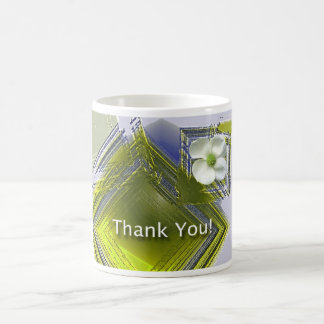 Employee Recognition Thank You Floral Mugs