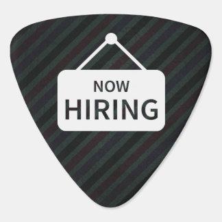 Employing Applicants Sign Plectrum