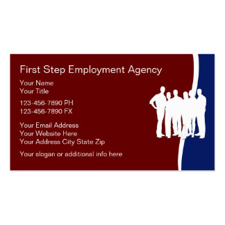 Employment Agency Business Cards