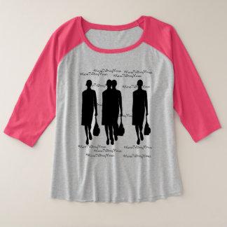 Empower Women Sleeve Raglan T-Shirt