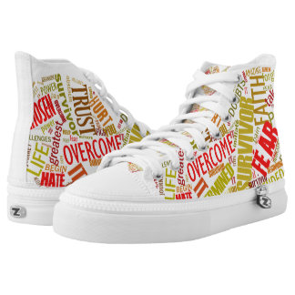 Empowered Heart High Tops