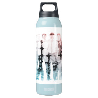 Empowered Professionals Working as a Team Concept Insulated Water Bottle