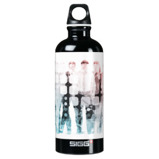 Empowered Professionals Working as a Team Concept SIGG Traveller 0.6L Water Bottle