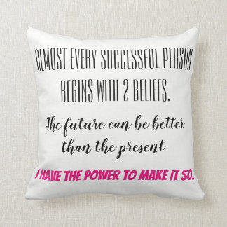Empowering Thoughts Cushion