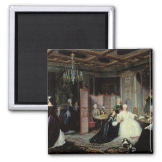 Empress Catherine the Great  receiving a Magnet