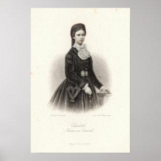 Empress Elisabeth of Austria Poster