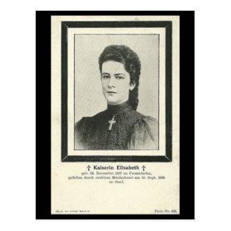 Empress Elisabeth - Sissi - ASSASSINATION #034H Postcard