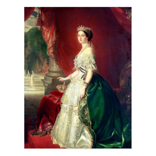 Empress Eugenie of France Postcard