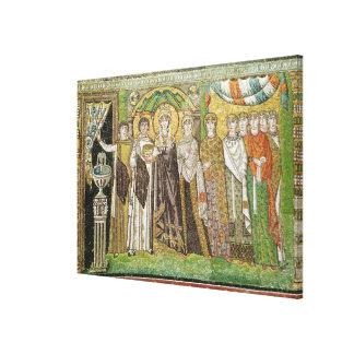 Empress Theodora Canvas Print