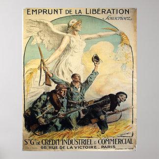 Emprunt de la Liberation Print