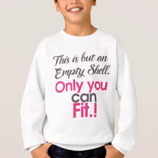 empt shell sweatshirt