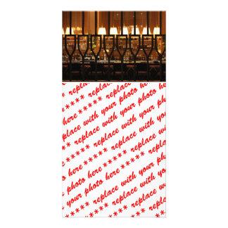Empty Bar Room Customized Photo Card