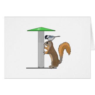 Empty Bird Feeder Card