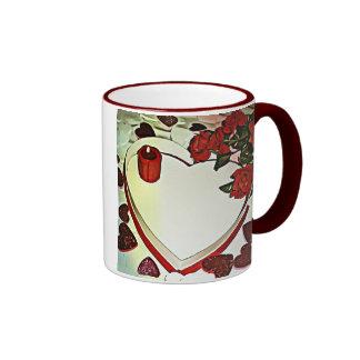 Empty Candy Box Valentine Ringer Mug