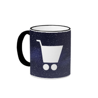 Empty Carriers Minimal Ringer Mug
