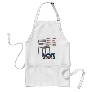 Empty Chair, Empty Obama Aprons