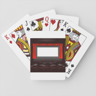 Empty Cinema Playing Cards