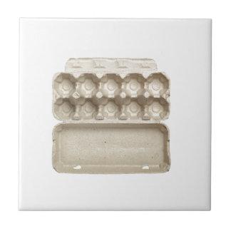 Empty egg carton tile