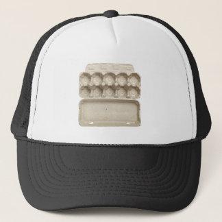 Empty egg carton trucker hat