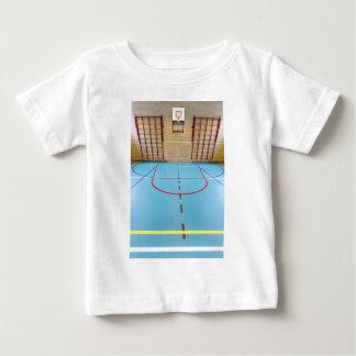 Empty european gymnasium for school sports baby T-Shirt