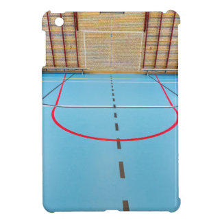 Empty european gymnasium for school sports iPad mini case