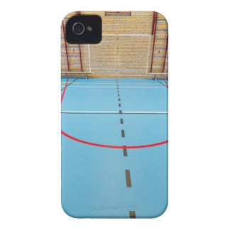 Empty european gymnasium for school sports iPhone 4 cover