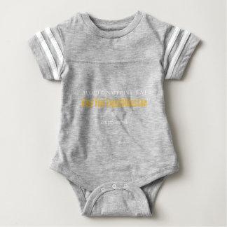 Empty Mind White Baby Bodysuit
