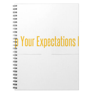 Empty Mind White Spiral Notebook