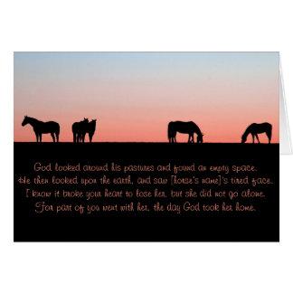 Empty Pasture Card