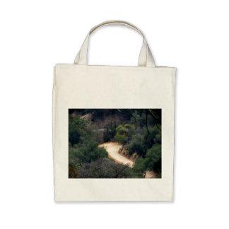 Empty Road 1 Canvas Bags