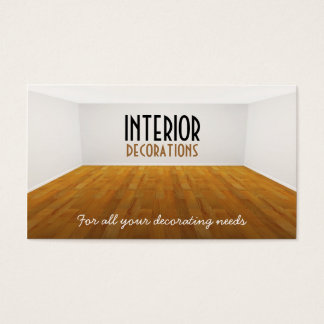 Empty Room Business Card