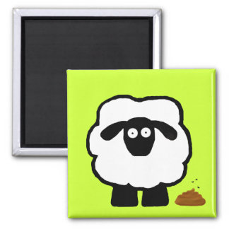 Empty Sheep Magnet
